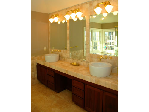 Bathrooms Custom Built Cabinets and Vanities for Baths by Olde Mill