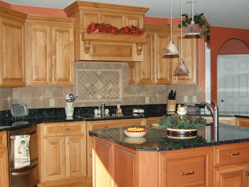 Custom kitchen built cabinets by olde mill cabinetry for Custom made kitchen cupboards